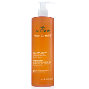 Nuxe Rêve De Miel Face And Body Cleansing Gel 400ml