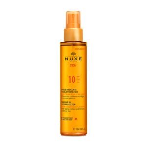 Nuxe Sun Taning Oil Face And Body Spf10 150ml