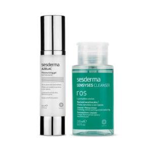 Serderma Azelac Moisturizing Gel 50ml+ Sensyses Cleanser Ros 200ml