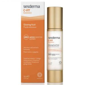 Sesderma C Vit Radiance Glowing Fluid Antiox Booster System 50ml