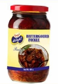 Tony's Delight Bitter Gourd Pickle White - Pack Size - 12x400gm
