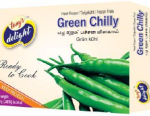 Tony's Delight Chilli Green - Pack Size - 28x400gm