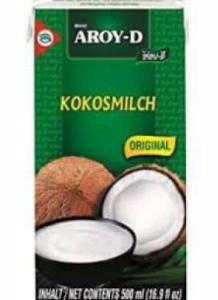 Aroy-D Coconut Milk UHT 500ml - Pack Size - 12x500ml
