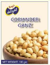 Tony's Delight Coriander Whole 100gm - Pack Size - 15x100gm
