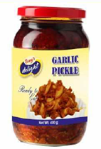 Tony's Delight Garlic Pickle - Pack Size - 12x400gm