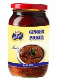 Tony's Delight Ginger Pickle - Pack Size - 12x400gm