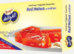 Tony's Delight Halwa Red - Pack Size - 28x400gm