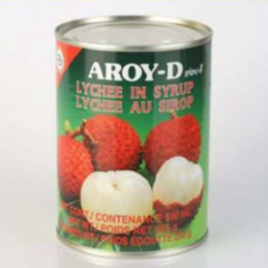 Aroy-D Lychee in Syrup - Pack Size - 24x565gm