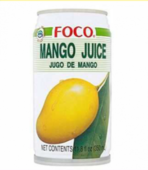 FOCO Mango Juice - Pack Size - 24x350ml