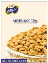 Tony's Delight Methi Seed 1kg - Pack Size - 12x1kg