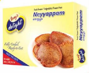 Tony's Delight Neyappam - Pack Size - 28x400gm