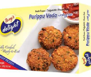 Tony's Delight Paruppuvada - Pack Size - 28x300gm