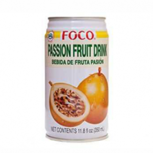 FOCO Passion Fruit Juice - Pack Size - 24x350ml
