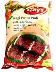Tony's Delight Raggi Puttu Podi - Pack Size - 10x1kg