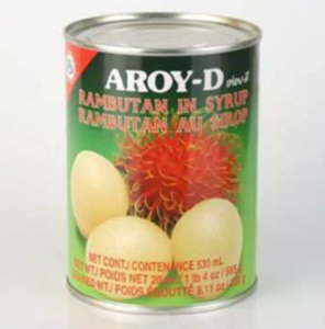 Aroy-D Rambuttan in Syrup - Pack Size - 24x565gm