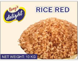Tony's Delight Rice Red 10kg - Pack Size - 1x10kg