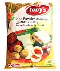 Tony's Delight Rice Podi - Pack Size - 10x1kg