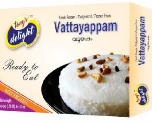 Tony's Delight Vattayappam - Pack Size - 28x300gm