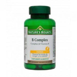 Nature's Bounty B-Complex 100 Comprimidos Recubiertos
