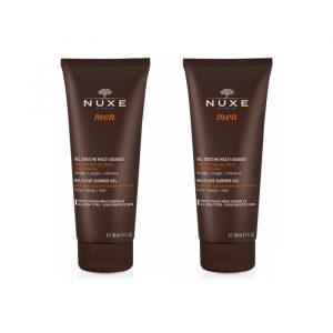 Nuxe Men Multi Use Shower Gel 2x200ml