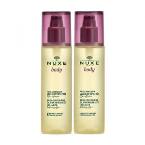 Nuxe Body Contouring Oil For Infiltrated Cellulite 2x100ml