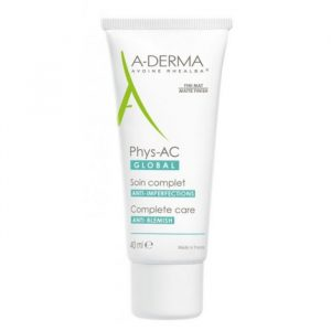 A-Derma Phys-AC Global Complete Anti-Blemish Care 40ml