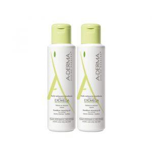 A-Derma Exomega Control Shower Oil Dry Skin 2x500ml