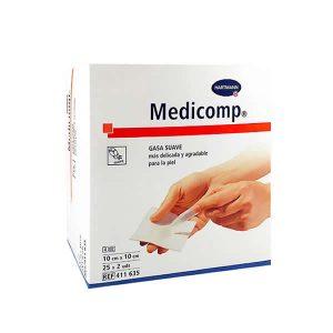 Hartmann Medicomp Soft Gauze 10X10cm 2x25 Units