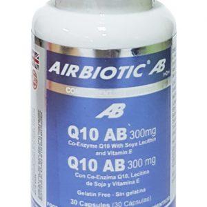 Airbiotic Ab Q10 Ab Complex 300 Mg 30 Caps