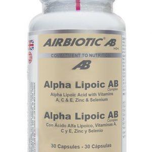 Airbiotic Ab R-A Lipoico Ab Complex 30 Caps