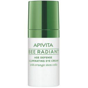 Apivita Bee Radiant Age Defense Illuminating Eye Cream 15ml