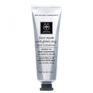 Apivita Deep Cleansing Face Mask With Green Clay 50ml