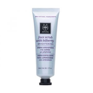Apivita Brightening Face Scrub With Bilberry 50ml