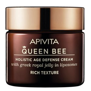 Apivita Queen Bee Holistic Age Defense Cream Rich Texture 50ml