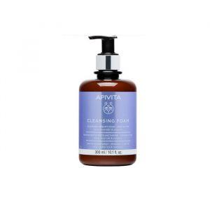 Apivita Cleansing Creamy Foam For Face & Eyes 300ml