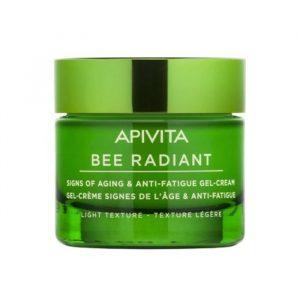 Apivita Bee Radiant Signs Of Aging & Anti-Fatigue Gel-Cream Light Texture 50ml