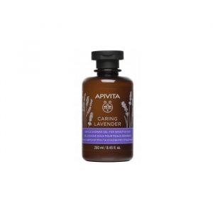 Apivita Caring Lavender Shower Gel 250ml