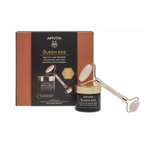Apivita Queen Bee Holistic Rich Texture Anti-Aging Cream 50ml Set 2 Pieces