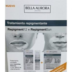 Bella Aurora Repigment12 Cream 75ml Repigmenting Treatment Set 2 Pieces