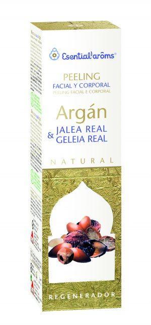 Esential A Peeling Facial y Corp Argan y Jalea Real 75ml
