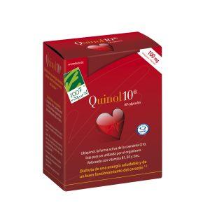 100%natura Quinol 10 60 Cap