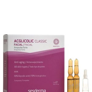 Sesderma Acglicolic Classic Facial Ampoules 5 Uts