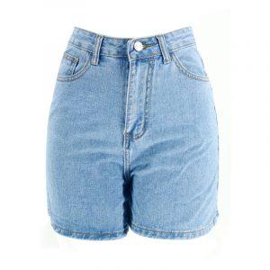 Denim Shorts Women Slimming Large Size Shorts Women - Blue - Large