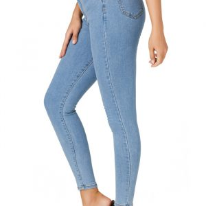 Jeans Women Stretch Washed Slim Fit Women Jeans Skinny Pants - Smalt - Extra Large