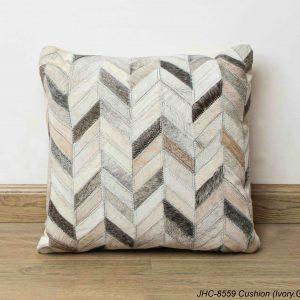 Cushion  JHC-8559  Ivory Grey  16x16
