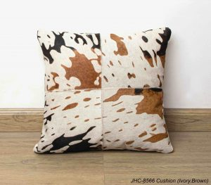 Cushion  JHC-8566  Ivory Brown  16x16