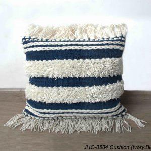 Cushion  JHC-8584  Ivory Blue  18x18