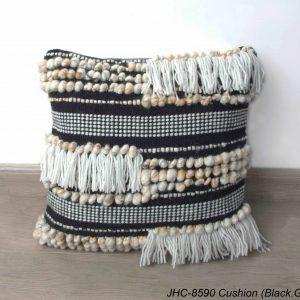 Cushion  JHC-8590  Black Gold  18x18