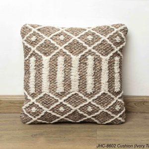 Cushion  JHC-8602  Ivory Taupe  18x18