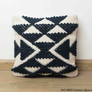Cushion  JHC-8603  Blue Ivory  18x18